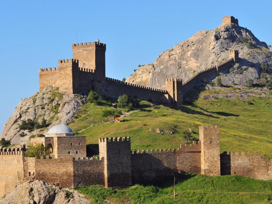 7 самых интересных крепостей в Крыму.