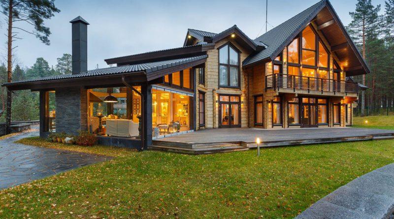 деревянные дома в Екатеринбурге
