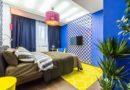 Яркий цвет спальни – залог хорошего настроения