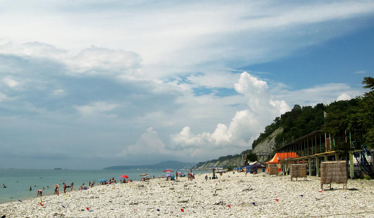 Пляжи Шепси