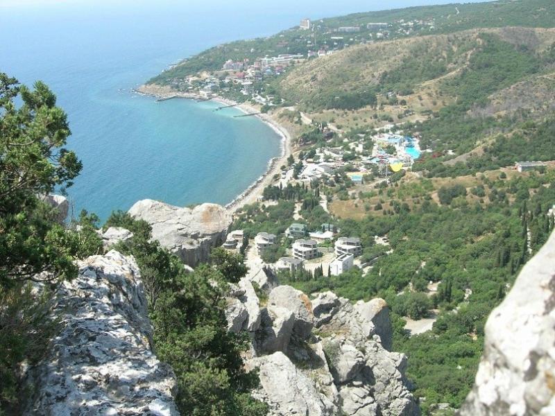 Поселок Кацивели в Крыму